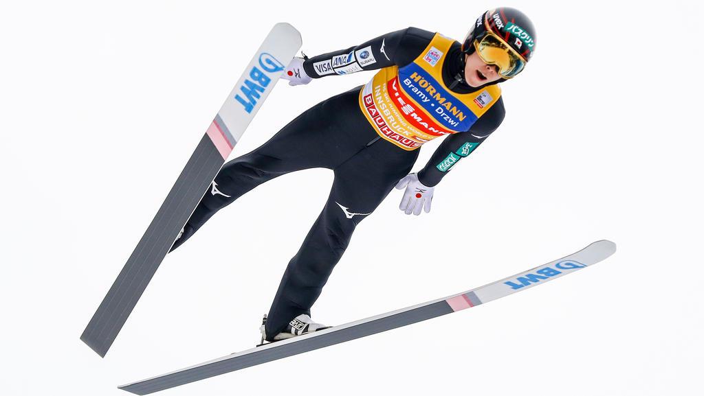 Ryoyu Kobayashi will in Bischofshofen auch das vierte Springen der Tournee gewinnen