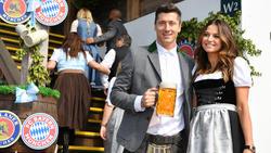 Robert Lewandowski und Frau Anna wollten nicht nach Paris
