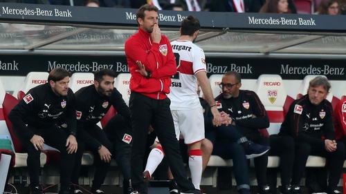 Markus Weinzierl steckt mit dem VfB Stuttgart im Keller fest