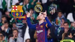Barcelona-Star Lionel Messi verzückte zuletzt die Zuschauer im Benito Villamarín von Real Betis