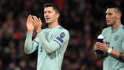 Auf Robert Lewandowski könnte es im Rückspiel gegen Liverpool ankommen