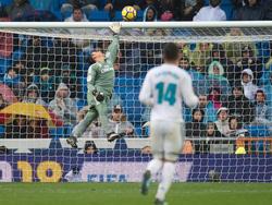 El Madrid volvió a sufrir otra derrota en el Santiago Bernabéu. (Foto: Getty)