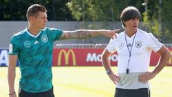 Toni Kroos sieht die deutsche Nationalmannschaft auf einem guten Weg