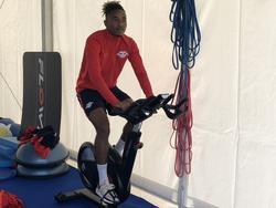 Christopher Nkunku ya entrena con su nuevo equipo.