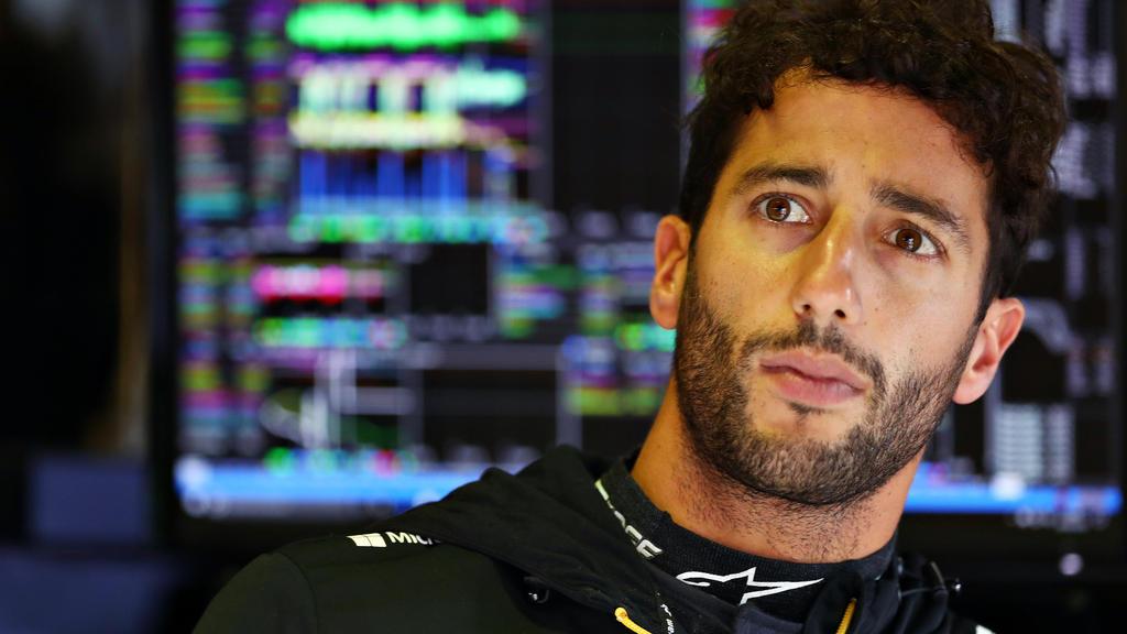 Daniel Ricciardo möchte mit Renault im kommenden Jahr aufs Podium fahren