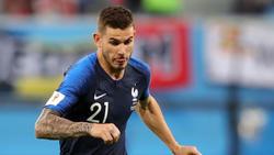 Lucas Hernández steht trotz Kniebeschwerden im Kader der französischen Nationalmannschaft