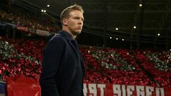 Julian Nagelsmann will mit RB Leipzig in Leverkusen gewinnen