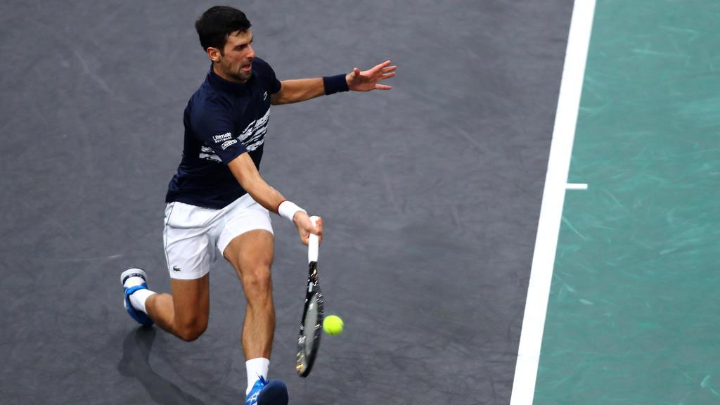 Top-Favorit für London: Novak Djokovic