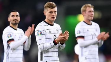 Toni Kroos sieht die DFB-Elf nicht als Titel-Favoriten