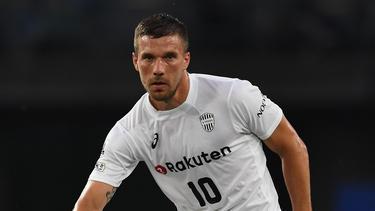 Lukas Podolski verbuchte einen Assist