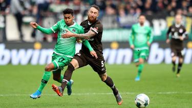 Hannover 96 setzte ich gegen St. Pauli durch
