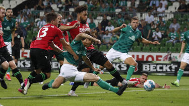 Kein Sieger zwischen Werder Bremen und Hannover 96