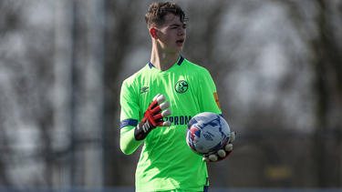 Luca Podlech vom FC Schalke 04 gilt als großes Torwarttalent