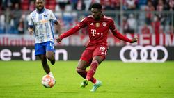 Alphonso Davies fehlt dem FC Bayern im Topspiel gegen RB Leipzig