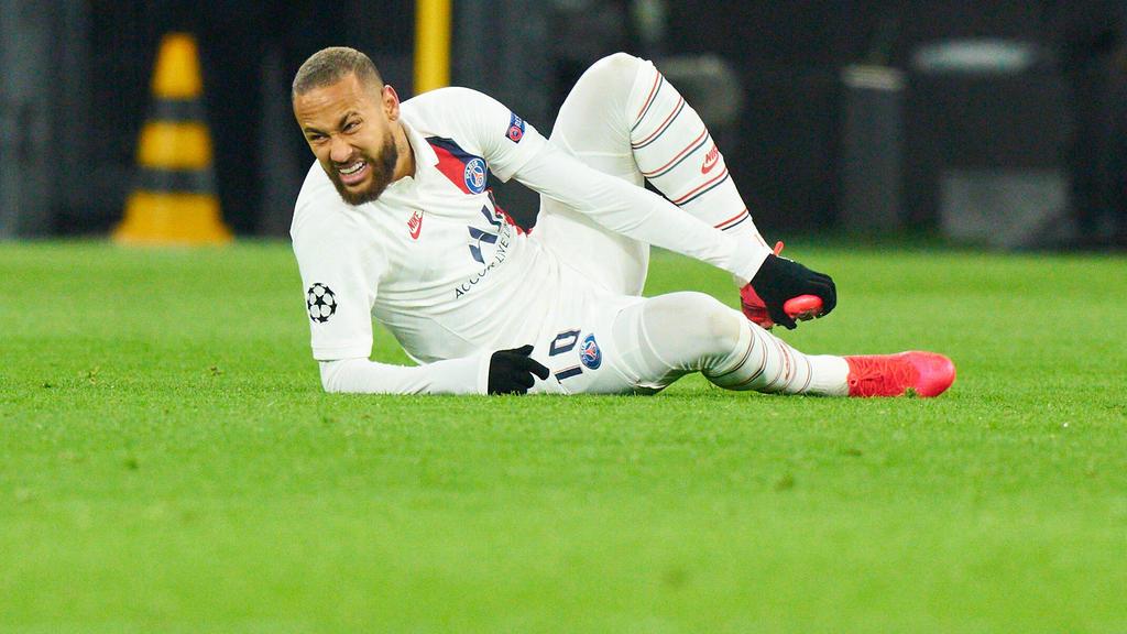 Neymar verlor am Dienstagabend mit PSG beim BVB