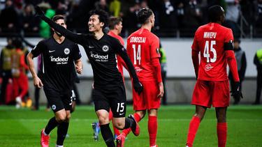 Mann des Abends bei Eintracht Frankfurt: Daichi Kamada