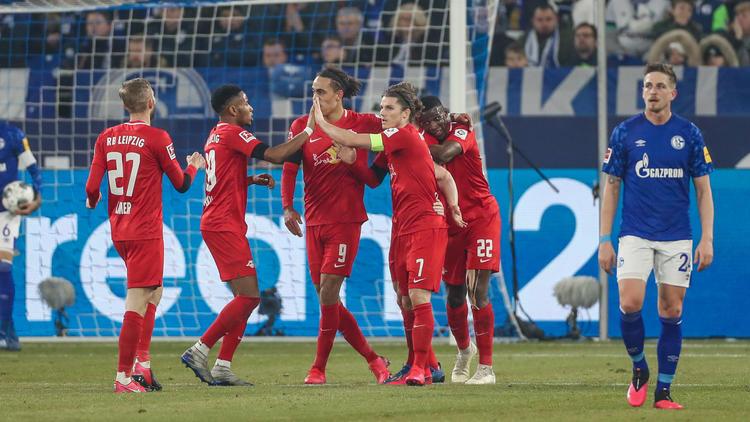 RB Leipzig schoss die Schalker im eigenen Stadion ab