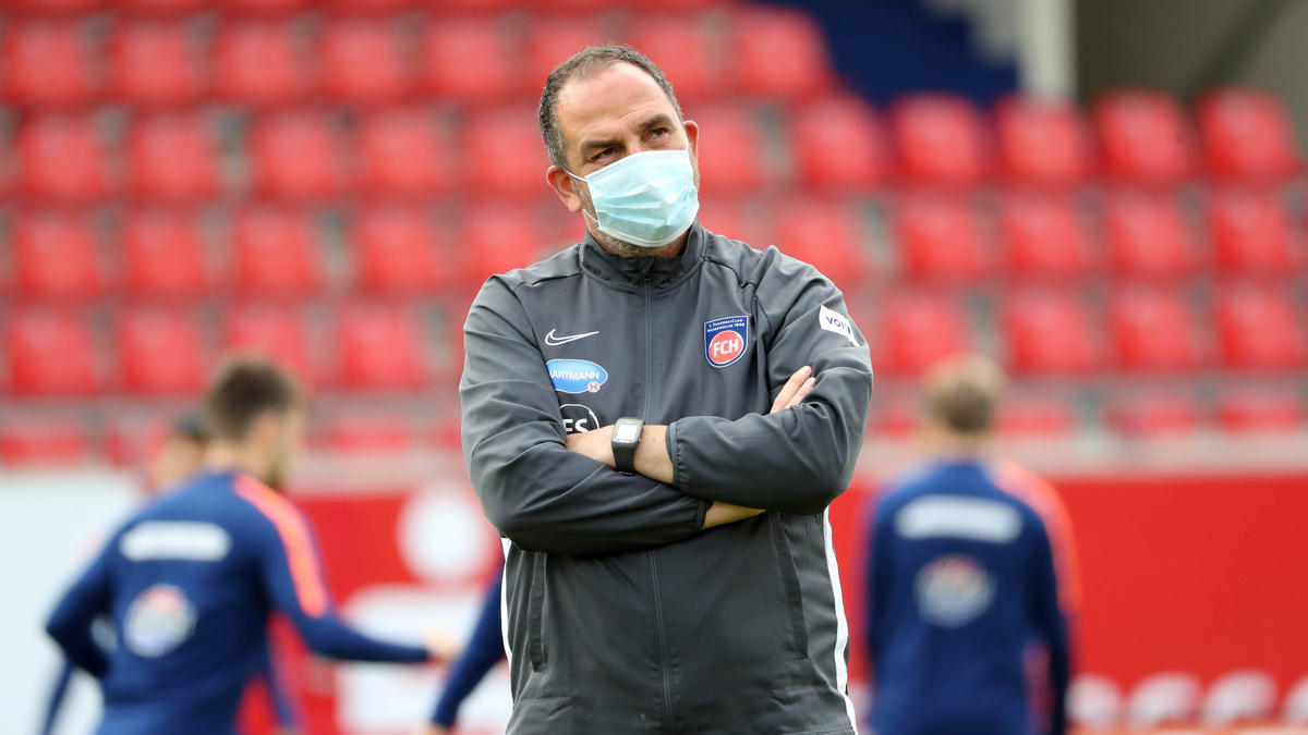 Frank Schmidt bleibt im Aufstiegskampf gelassen