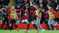 Llorente fue el hombre del partido en Anfield.
