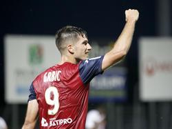 Adrian Grbić hat in der Ligue 2 in 26 Spielen 17 Mal getroffen