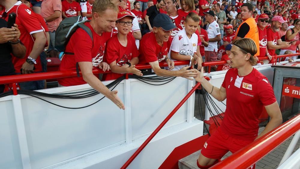 Immer nah bei den eigenen Fans: Union Berlin