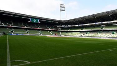 Die Tribünen im Bremer Weserstadion bleiben auch im Heimspiel gegen Hoffenheim leer