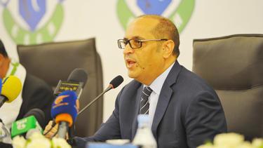 President Taoufik Mkacher of the CS Chebba