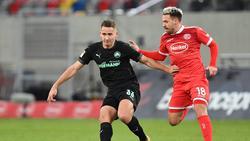 Fortuna Düsseldorf und Greuther Fürth trennten sich mit einem Remis