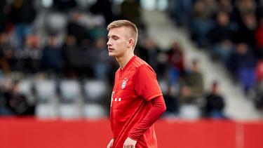 Torben Rhein ist bis 2022 an den FC Bayern gebunden