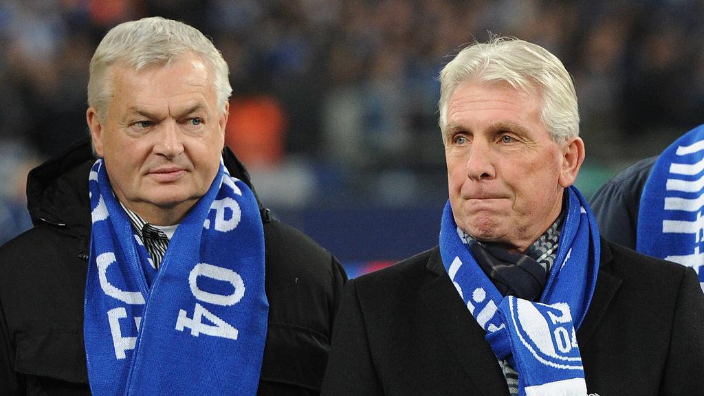 Hannes Bongartz (li.) hat sich zur Lage beim FC Schalke 04 geäußert
