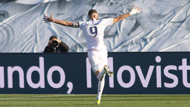 Benzema lleva una racha goleadora envidiable.