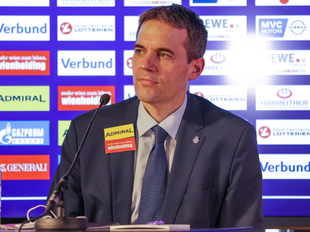 Turbulente Tage für Austria-Vorstand Markus Kraetschmer