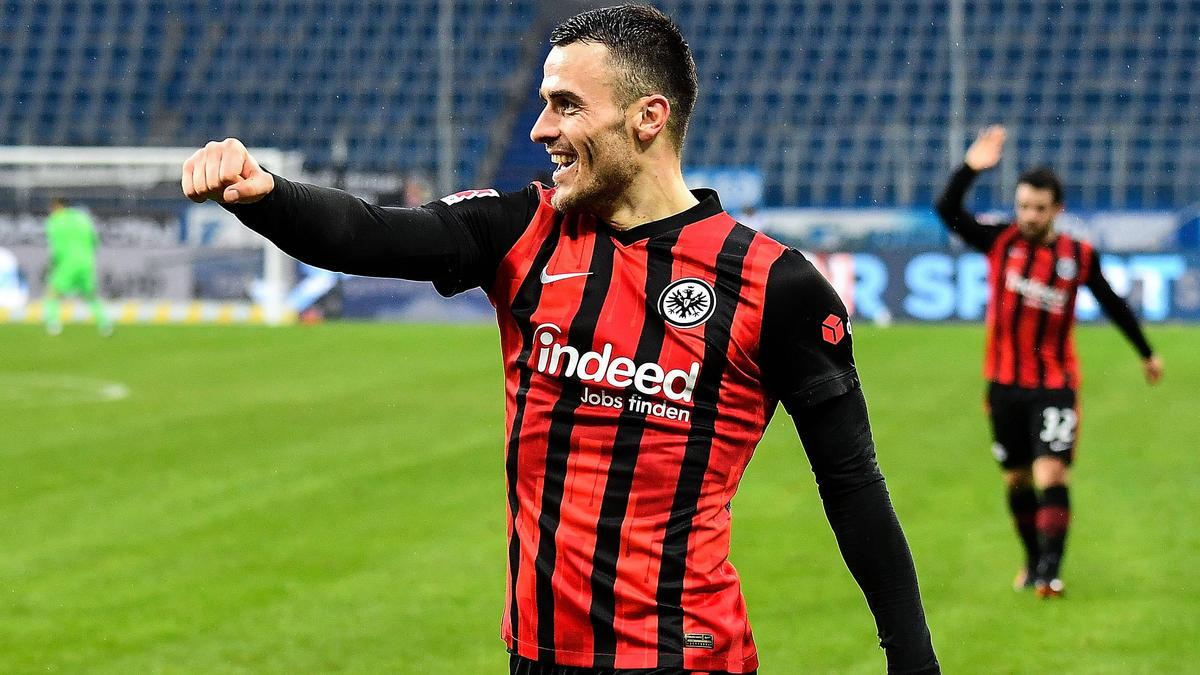 Bei Eintracht Frankfurt in Topform, von Inter Mailand umgarnt: Filip Kostic