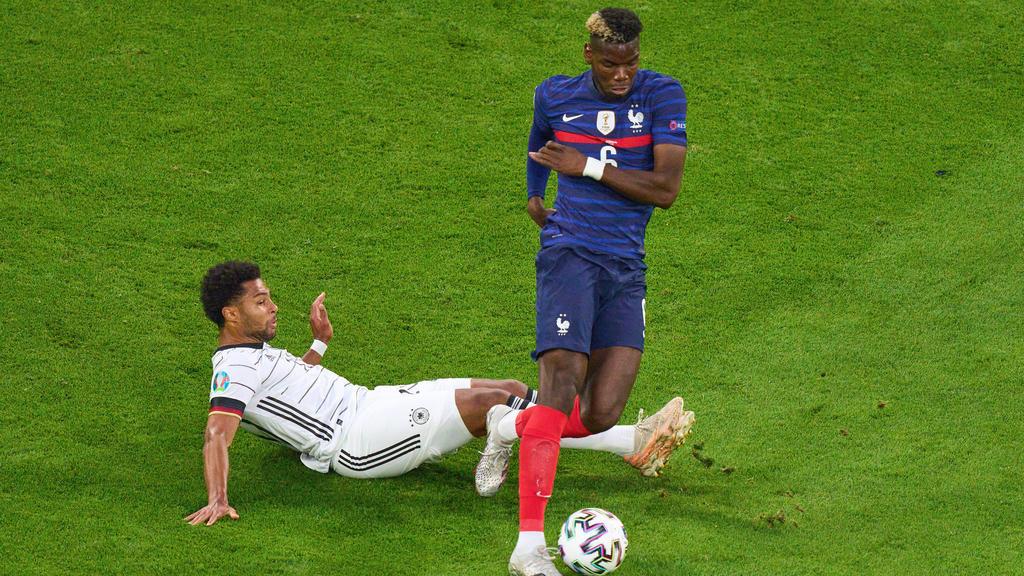 Paul Pogba war am Dienstag gegen Deutschland Frankreichs überragender Mann