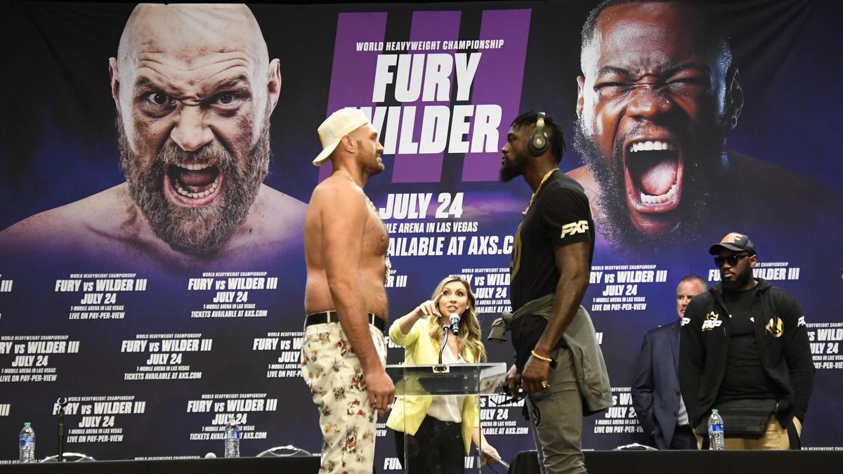 Tyson Fury und Deontay Wilder boxen zum dritten Mal gegeneinander