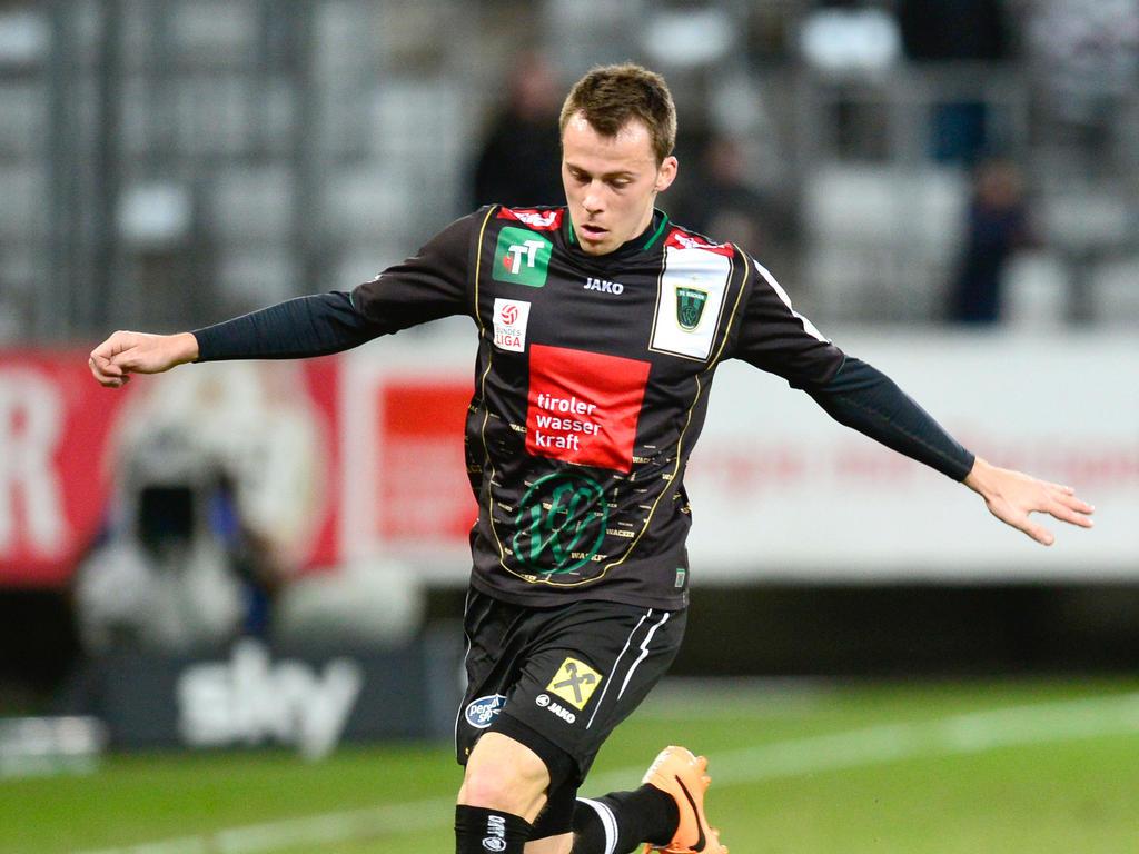Gegen Ex-Verein Rapid muss der frischgebackene Profi Armin Hamzic am Sonntag zuschauen