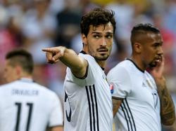 Mats Hummels y Jérôme Boateng con la camiseta germana. (Foto: Getty)