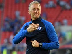 Heimir Hallgrímsson peilt den ersten isländischen Sieg bei einer WM an