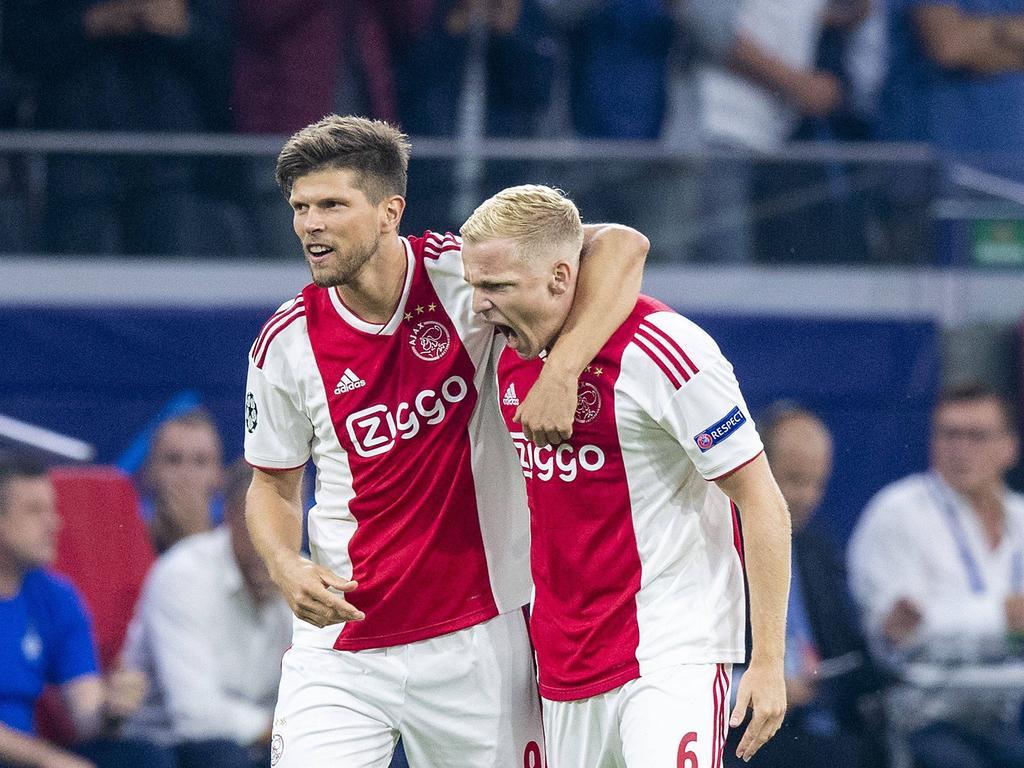 Ajax Amsterdam steht mit einem Bein in der Champions-League-Gruppenphase