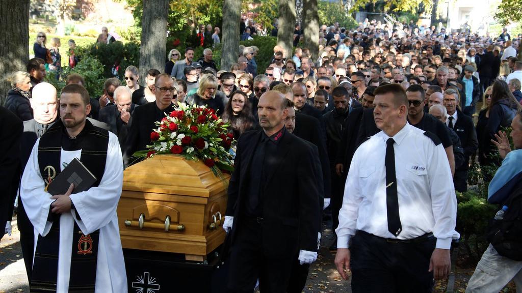 Beerdigung Rocky