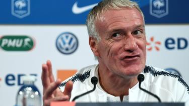 Didier Deschamps zeigt großen Respekt vor Deutschland
