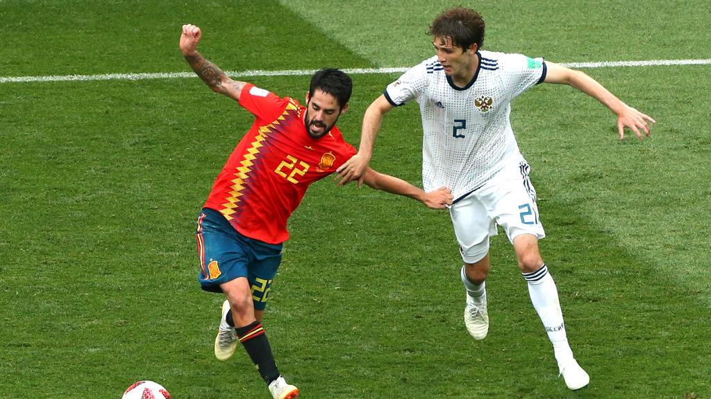 Spanien hatte bei der WM im Schnitt den meisten Ballkontakt