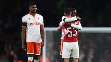 Der FC Arsenal hatte Grund zum Jubeln