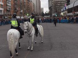 Imagen de archivo de los alrededores del Bernabéu. (Foto: Getty)