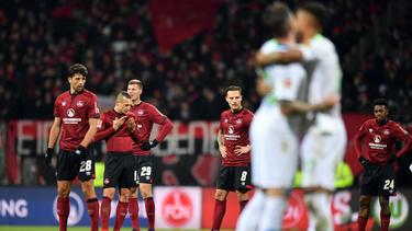 1. FC Nürnberg vs. VfL Wolfsburg: Trauer auf der einen, Freude auf der anderen Seite