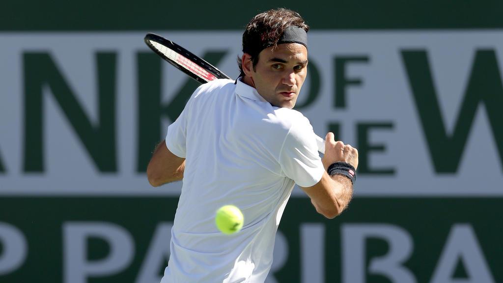Roger Federer steht in Indian Wells im Halbfinale