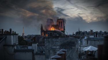 Notre-Dame-Kathedrale ging in der Nacht zum Dienstag in Flammen auf