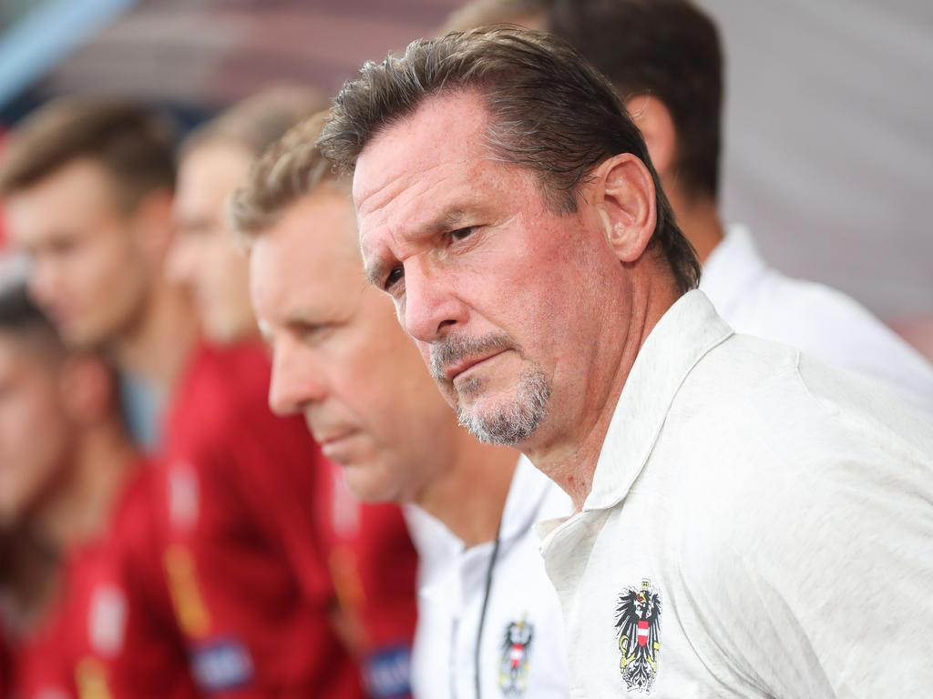 Teamchef Werner Gregoritsch lässt sich nicht in die Karten blicken