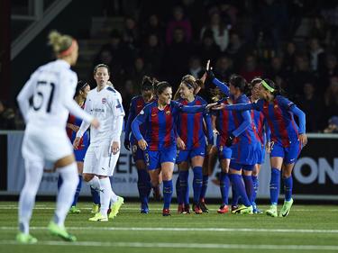 El Barcelona ganó 2-0 al club de la estrella mundial Marta. (Foto: Getty)