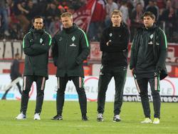 Der Trainerstab von Werder Bremen wird verkleinert